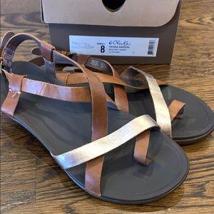 OluKai Upena Sandal Women's Size 8